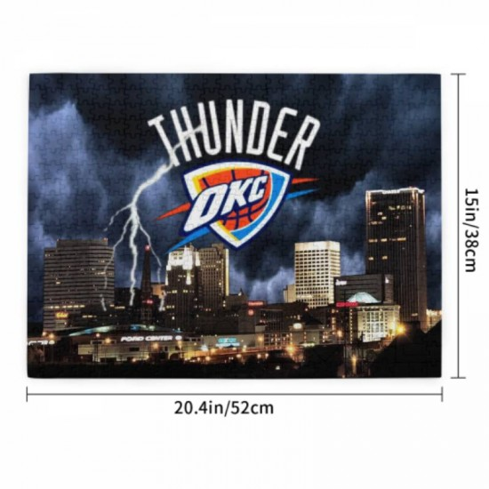 NBA Oklahoma City Thunder Picture puzzle #166043 for Adults and Kids 520 Piece
