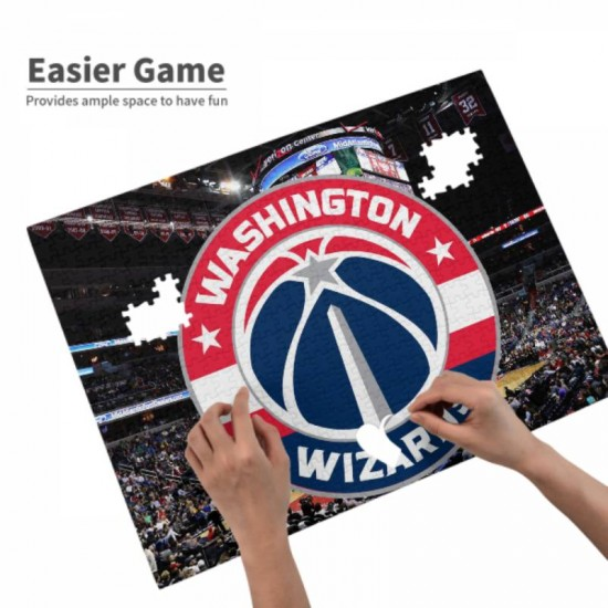 520 Pieces NBA Washington Wizards Picture puzzle #166865 for Teens, Adults & Families