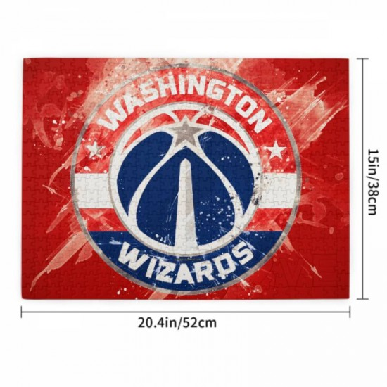 Puzzle Game - NBA Washington Wizards Picture puzzle #166953 for Adults Teens Kids