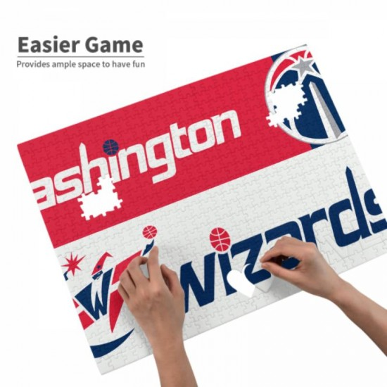 Puzzle Game - NBA Washington Wizards Picture puzzle #166961 for Adults Teens Kids