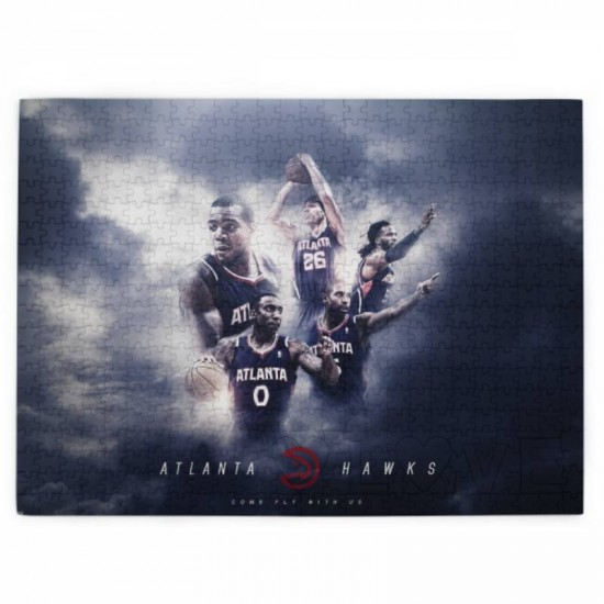 Atlanta Hawks Picture puzzle #168264 for Adults and Kids 520 Piece