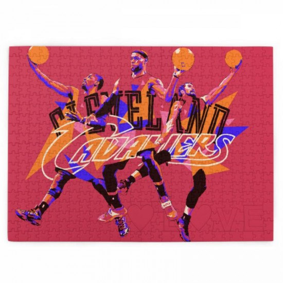 1 Pack of 520 Piece Cleveland Cavaliers Picture puzzle #169189, for Adults, Families