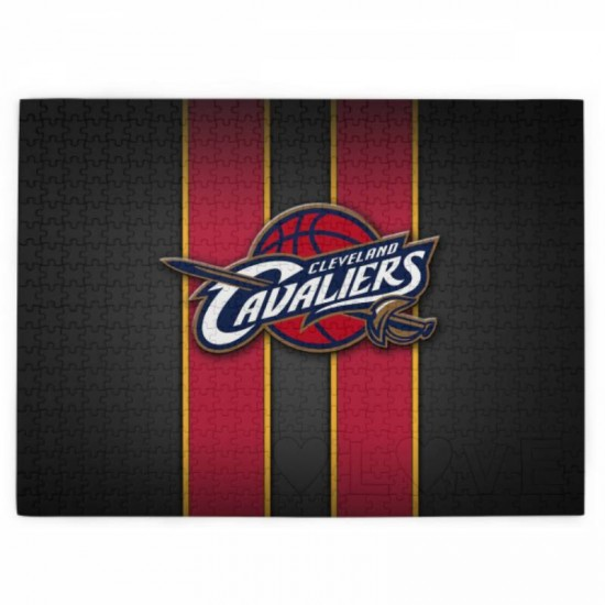 Great Gift NBA Cleveland Cavaliers Picture puzzle #169230 for stimulating Interest in sport