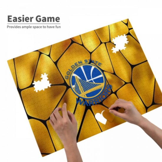 1 Pack of 520 Piece Golden State Warriors Picture puzzle #165023, for Adults, Families